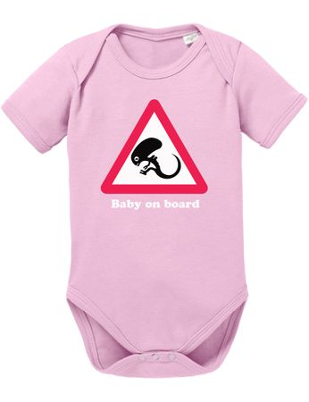 Alien Baby on Board Baby Body – Bild 3