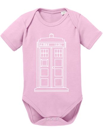 Doctor Line Who Box time police space dr tv Baby Body – Bild 4
