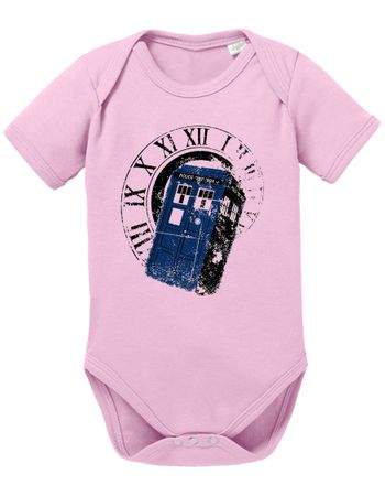 Doctor Rom Who Space Box dalek dr police doctor Baby Body – Bild 2