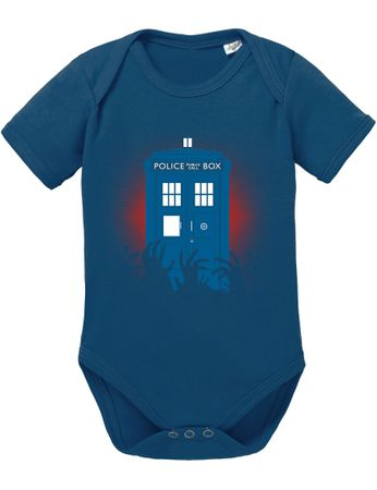 Doctor Zombie Line Who Box time police space dr tv Baby Body – Bild 2