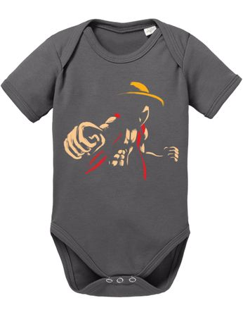 Ace Ruffy One Monkey Anime Piece Zoro Whitebeard Baby Body – Bild 3