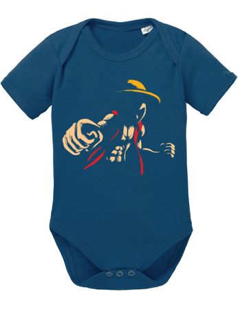 Ace Ruffy One Monkey Anime Piece Zoro Whitebeard Baby Body – Bild 2