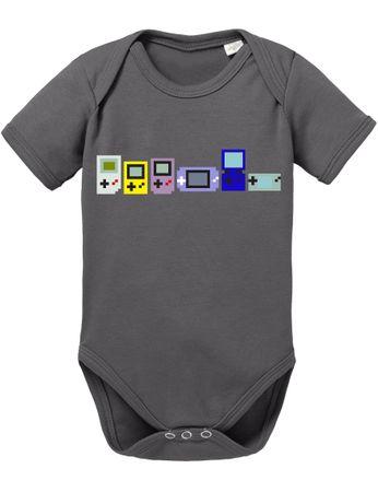 Game Evolution boy 16-Bit snes mario super kart 8-bit yoshi Baby Body – Bild 7