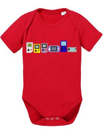 Game Evolution boy 16-Bit snes mario super kart 8-bit yoshi Baby Body – Bild 4