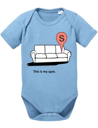 Big my Spot Bang Nerd Theory Sheldon Baby Body – Bild 5