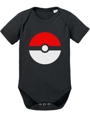Pokeball Baby Strampler Body