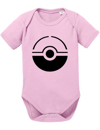 Anime Manga Cartoon Fun Nerd Pokeball Baby Strampler Body – Bild 6