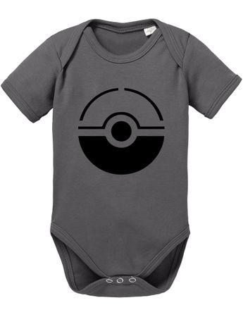 Anime Manga Cartoon Fun Nerd Pokeball Baby Body – Bild 4
