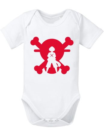 Ace Ruffy One Monkey Anime Piece Zoro Whitebeard Flag Baby Body – Bild 1