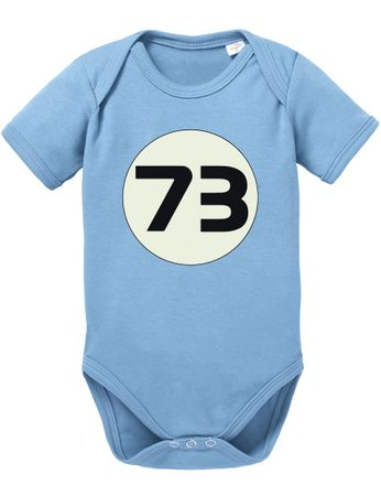 Big Sheldon 73 Bang Theory Nerd Baby Body – Bild 5