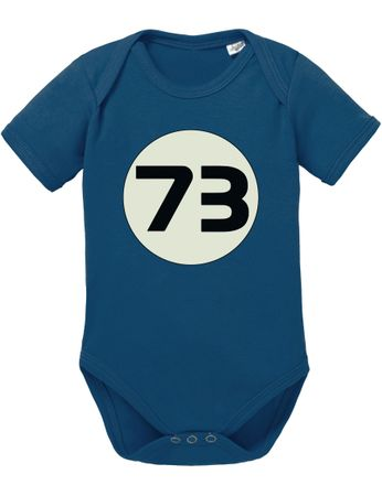 Big Sheldon 73 Bang Theory Nerd Baby Body – Bild 7