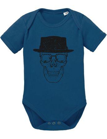 Bad Walter Skull Baby Strampler Body – Bild 5