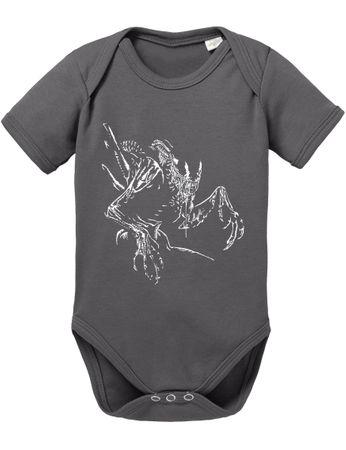 Alien Baby Strampler Body – Bild 2