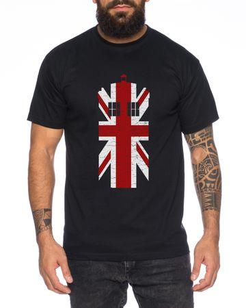 Doctor UK Who Space Box dalek dr police doctor Men's T-Shirt – Bild 3