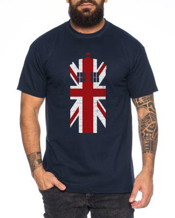 Doctor UK Who Space Box dalek dr police doctor Men's T-Shirt – Bild 4