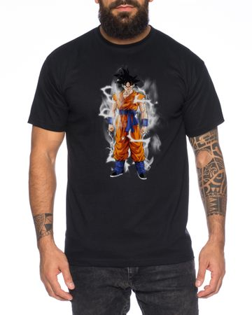 Goku Lighting Men T-Shirt – Bild 4
