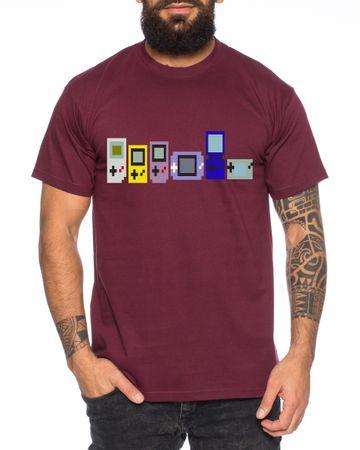 Game Evolution boy 16-Bit snes mario super kart 8-bit yoshi Men's T-Shirt – Bild 4