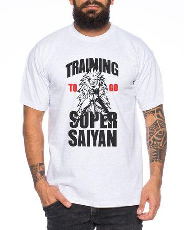 Goku long Hair Men T-Shirt – Bild 4