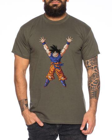 Goku Power Men T-Shirt – Bild 2