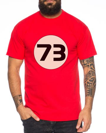 Big Sheldon73 Bang Theory Nerd Men's T-Shirt  – Bild 6