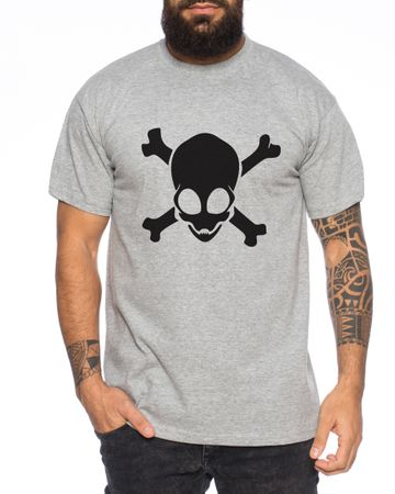 Alien Skull Men T-Shirt – Bild 2