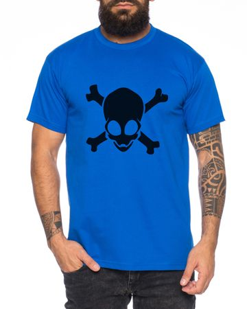 Alien Skull Men T-Shirt – Bild 4