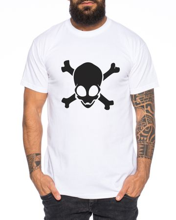 Alien Skull Men T-Shirt – Bild 1