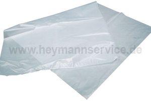 Fleischbeutel 500x1000mm T40 HDPE transparent
