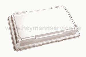 Deckel PET für SushiSchale SU171 glasklar eckig 176x96x30