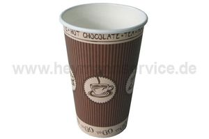 Coffee-Cup Exclusiv 16 oz/400 ml Premium Hot Coffee to go 50Stück.