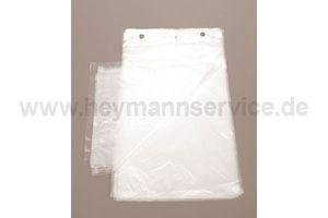 HDPE-Zuschnitte 18x21+3cm 8my transparent geblockt 10000 Stück