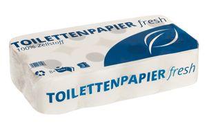 Toilettenpapier 3lg 250Bl. Hochweiß 9,5x11,2cm  21x72Rollen – Bild 1