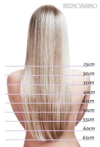 Echthaar Extensions 40cm 50cm 60cm Haarverlängerung Haarlängen für Haarextensions