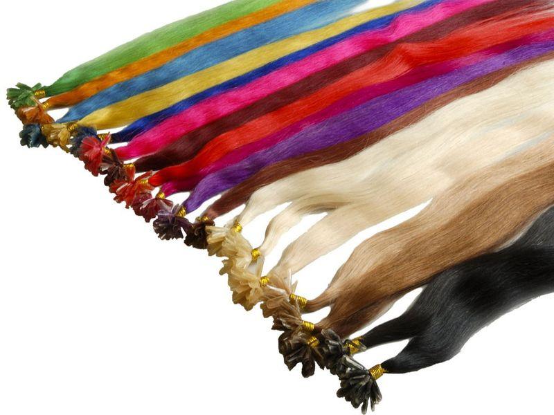 Echthaarsträhnen 50cm 0,5 Gr Haarverlängerung FB – Bild 2