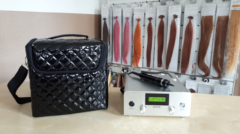 Ultraschallconnector auch für mobile Friseure