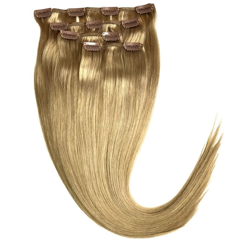 Echthaar Clip In Extensions Set 55Gramm 4tlg