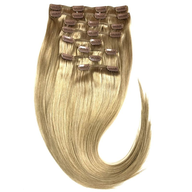 Echthaar Clip In Extensions Set 110Gramm 8tlg – Bild 2