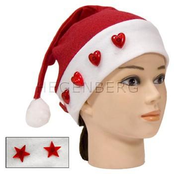 Weihnachtsmütze Lauflicht