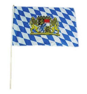 Flagge m.Stab