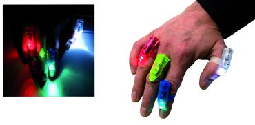 Finger-LED-Lichter