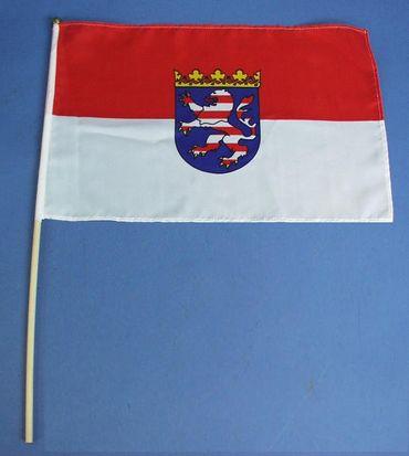 B. Stab -  Flagge Hessen