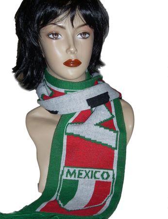Fußball - Schal  Mexico
