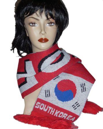 Fußball - Schal  Süd Korea