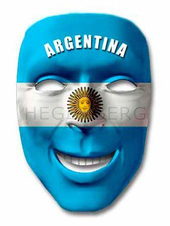 Fan Maske Argentinien