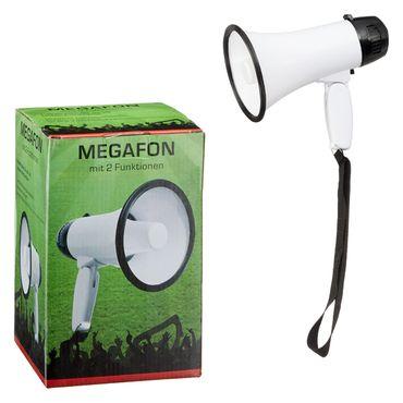 Megafon, mit Sprach-/Musik-Funktion