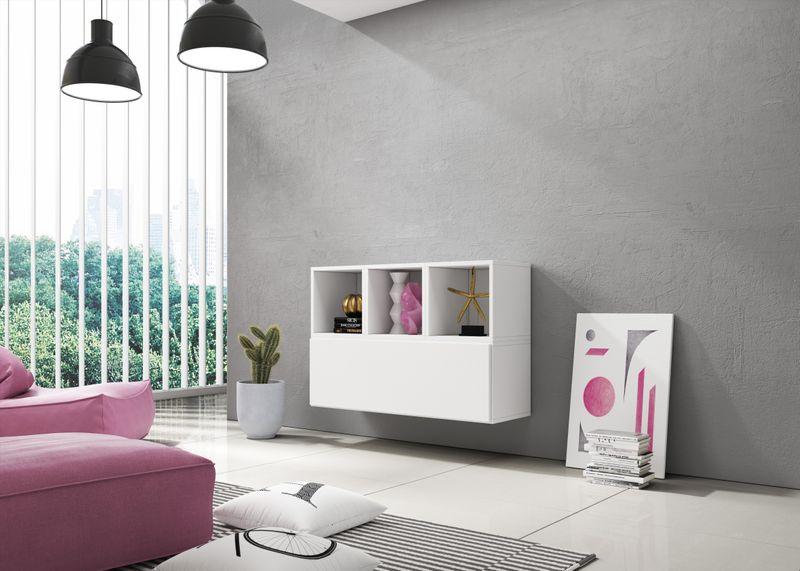 Sideboard Lowboard Tv Board Kommode Wohnwand Cube Kombination
