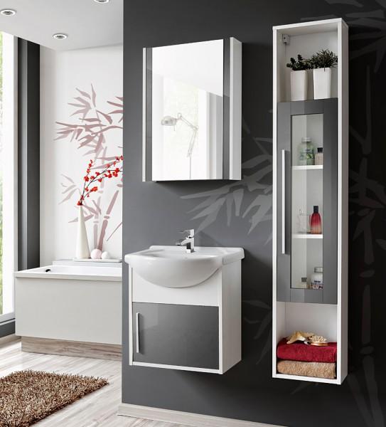 spiegelschrank badspiegel badezimmer spiegel badm bel wei. Black Bedroom Furniture Sets. Home Design Ideas