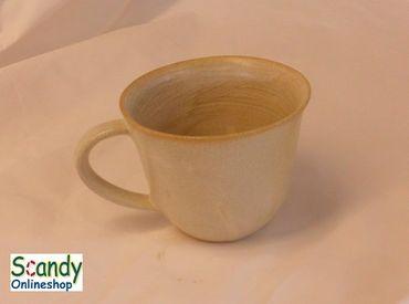 Milchkaffee Tasse aus Keramik  – Bild 4