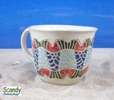 Tasse aus Keramik Design Fischer – Bild 1