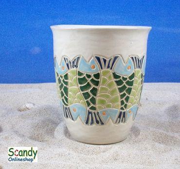 Saftbecher aus Keramik Design Fischer